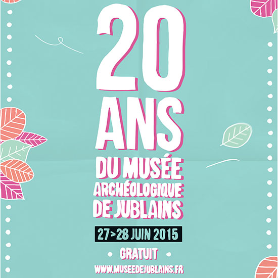Artwork - 20 ans musee jublains TC