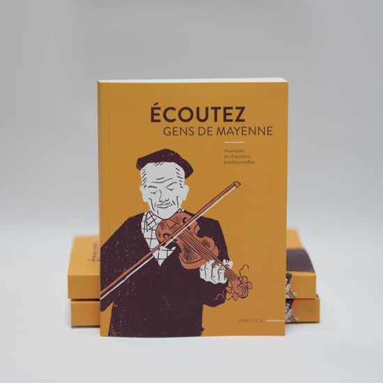 Couverture du livre-cd Écoutez gens de Mayenne