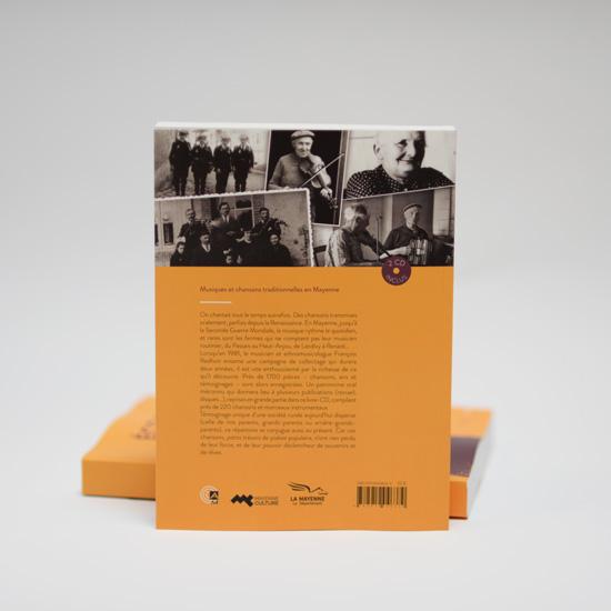 Livre-cd Écoutez gens de Mayenne