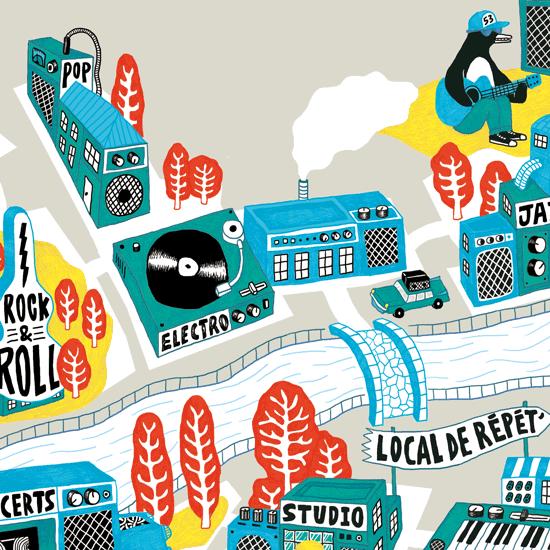Guide des musiques actuelles en Mayenne 2015