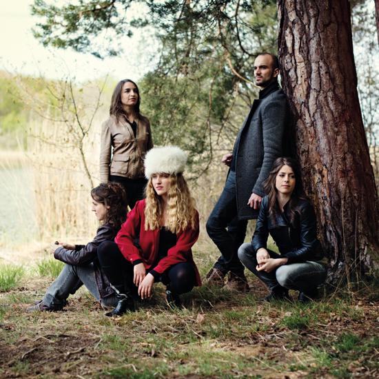Kyrie Kristmanson et le Quatuor Voce