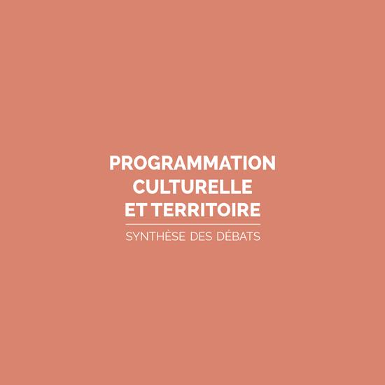 Programmation culturelle et territoire