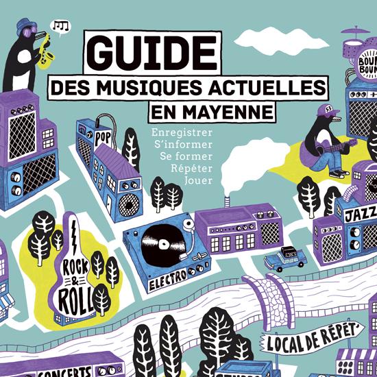 Guide des musiques actuelles en Mayenne 2017