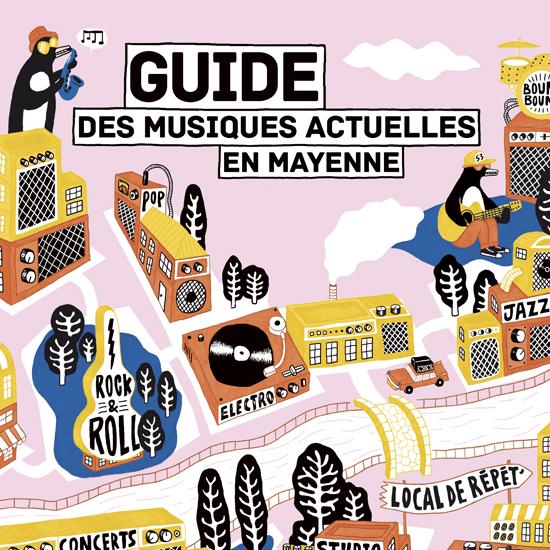 Guide des musiques actuelles en Mayenne