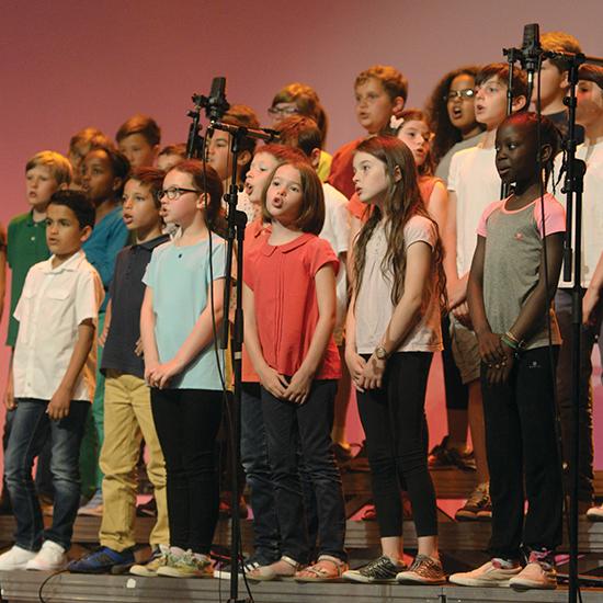 Jazz vocal et choeurs d'enfants