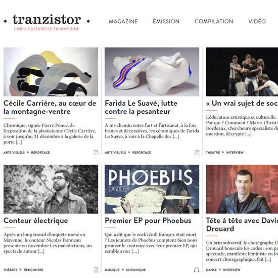Tranzistor l'info culturelle en mayenne